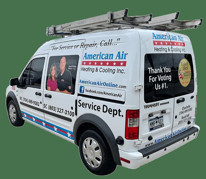 American Air Heating & Cooling - Van